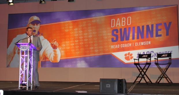 Dabo Swinney, Head Coach of Clemson University, photo credit Brandon Odoi